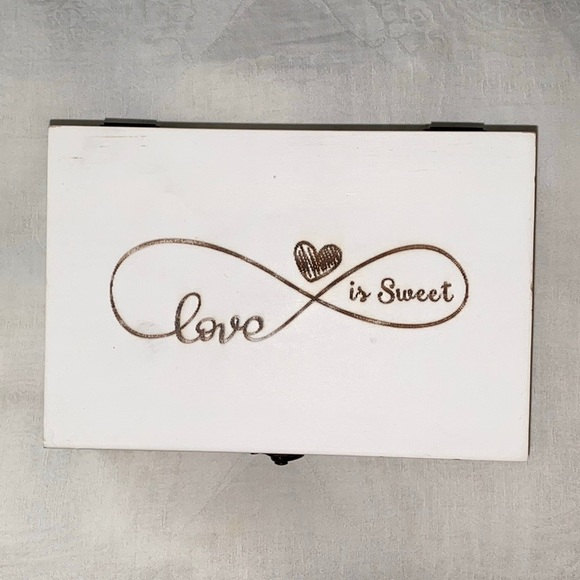 Other - Wedding ring box | White | Rustic style